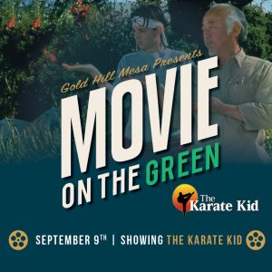 Movies in the Park!  September 9: Karate Kid @ Gold Hill Mesa | Colorado Springs | Colorado | United States
