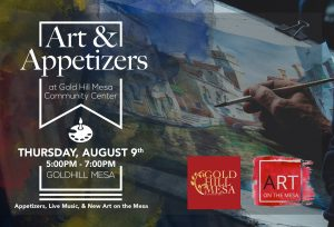 Art & Appetizers @ Gold Hill Mesa Community Center | Colorado Springs | Colorado | United States