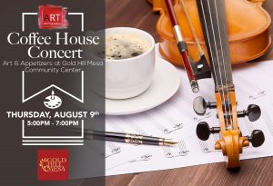 Coffee House Concert August 9 @ Gold Hill Mesa Community Center | Colorado Springs | Colorado | United States
