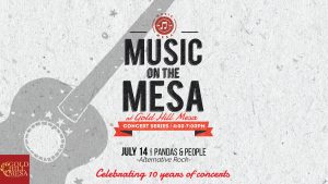 Music on the Mesa: July 14 (Alt Rock) @ Gold Hill Mesa Community Center | Colorado Springs | Colorado | United States