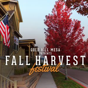 Fall Harvest Festival @ Gold Hill Mesa Community Center | Colorado Springs | Colorado | United States