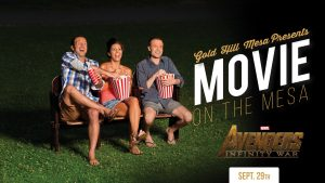 Movie on the Mesa: Avengers Infinity War @ Gold Hill Mesa | Colorado Springs | Colorado | United States