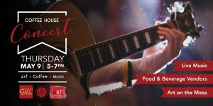 Coffee House Concert: May 9 @ Gold Hill Mesa Community Center
