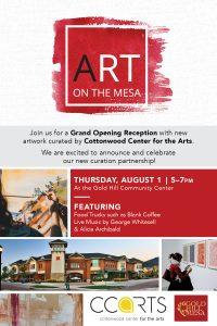 New Art Curation Grand Opening Celebration! @ Gold Hill Mesa Community Center