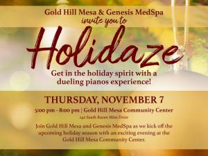 Holidaze 2019 @ Gold Hill Mesa Community Center